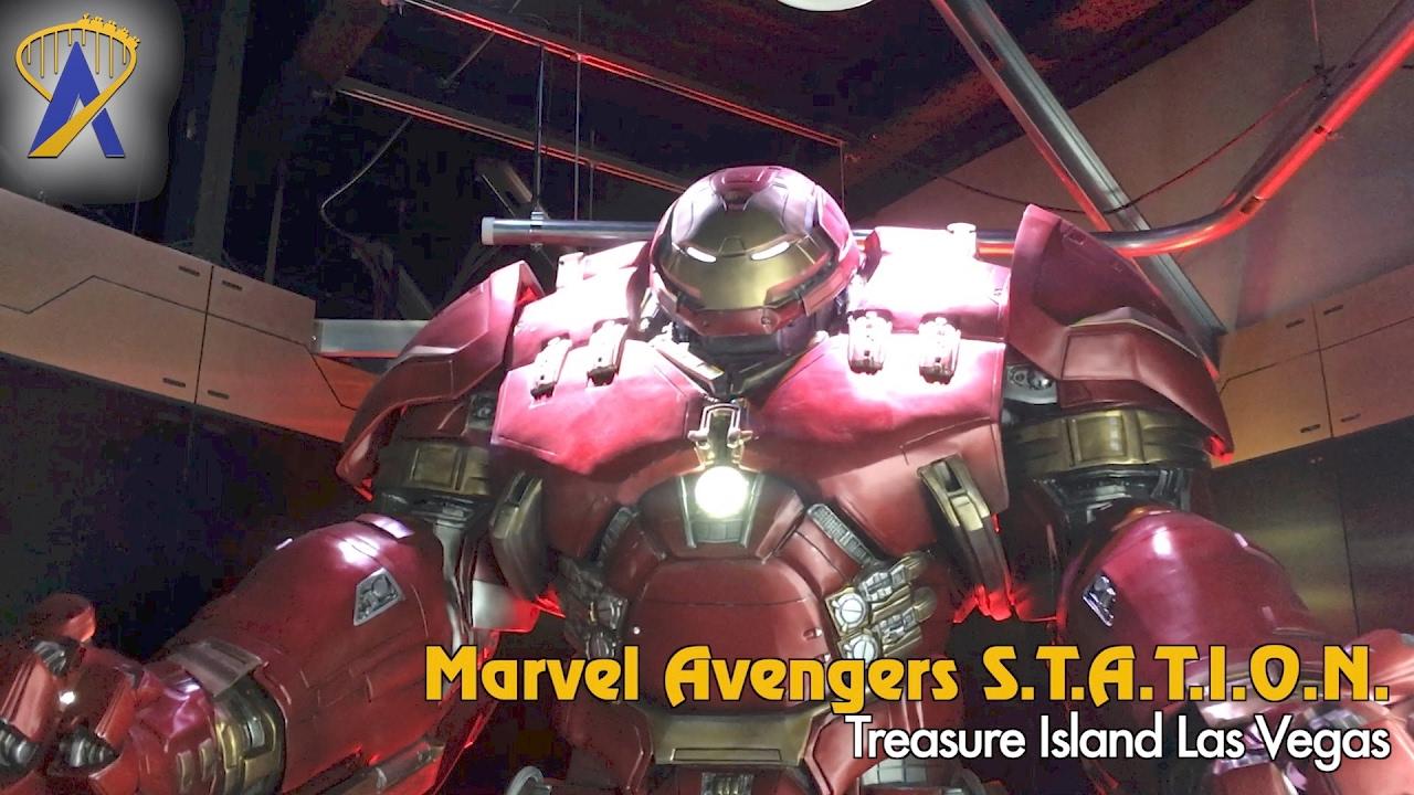 Avengers Treasure Island Las Vegas