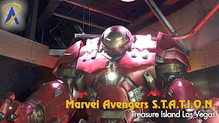 Marvel Avengers S.T.A.T.I.O.N. Tour at Treasure Island in Las Vegas