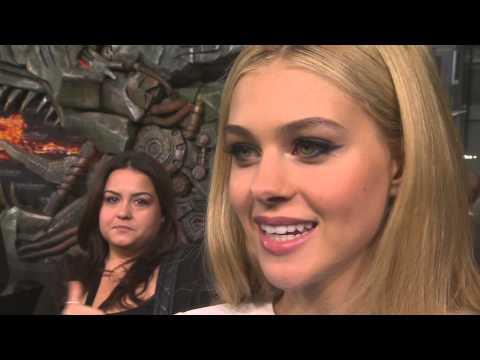 Transformers 4: Age of Extinction: Nicola Peltz Berlin Premiere Interview