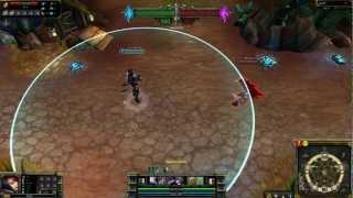 (OLD) Nightraven Fiora League of Legends Skin Spotlight