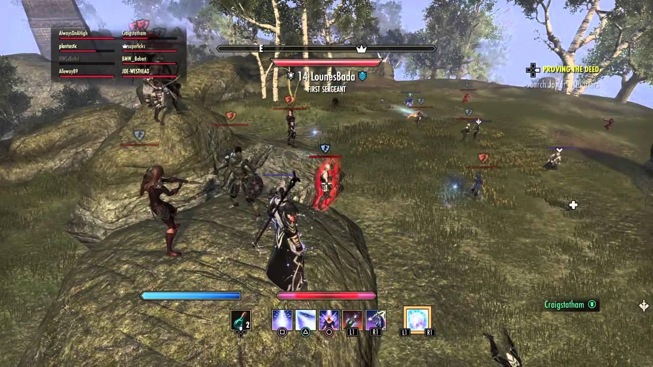 Elder Scrolls Online End Party Davons Watch, Stonefalls