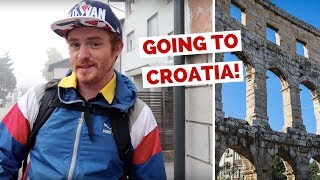 Slovenia to Croatia by Bus Travel Vlog