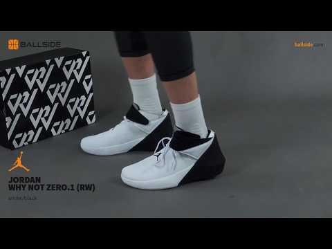 6288dd3fa16 Jordan Why Not Zero 1 on feet - YouTube