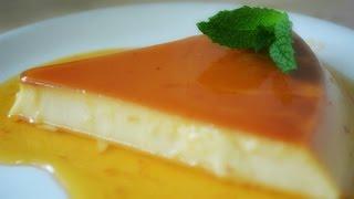 Delicious Homemade Flan or Cream Caramel Pudding Recipe