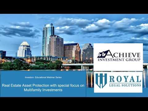 Asset Protection Webinar Video