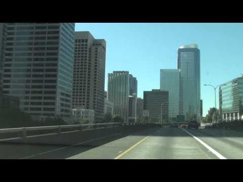 Interstate 5 In Washington,Seattle Downtown,Exit165 To 6th Ave, WA 98104