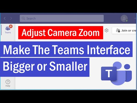 Zoom in and out of Teams | How to Make The Teams Interface Bigger or Smaller | #MicrosoftTeams
