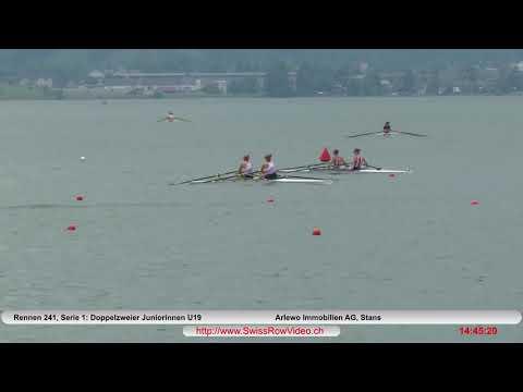 289, JW2x, Serie 1, Sarnen, 10  Juni, 2018, Doppelzweier Juniorinnen U19 Rennen 241