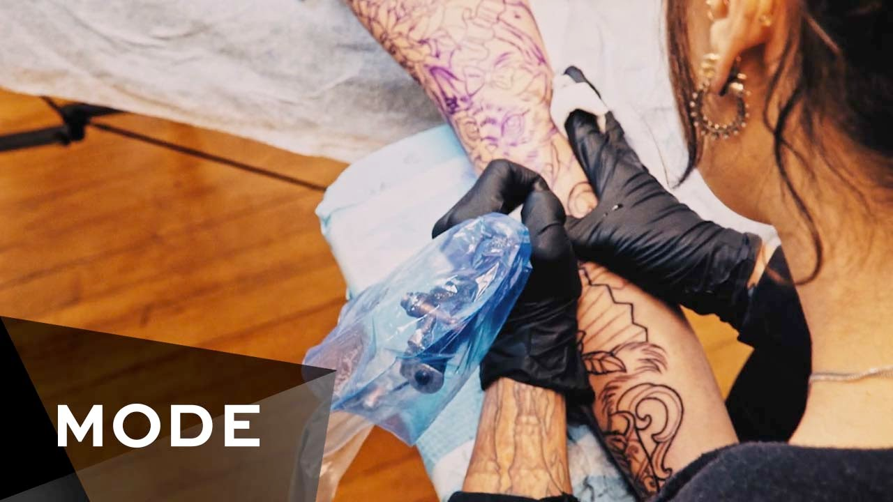 I\'m a Tattoo Artist | My Life ☆ Glam.com - YouTube