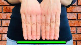 Что если бы наши пальцы были одной длины