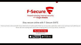 Free F-Secure SAFE Internet Security (1 Year 5 Devices - £79.99 value) (UK Only)