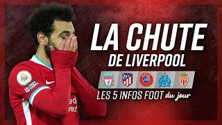 Liverpool chute, Milik est là, Diatta à Monaco… Voici les 5 infos du jour