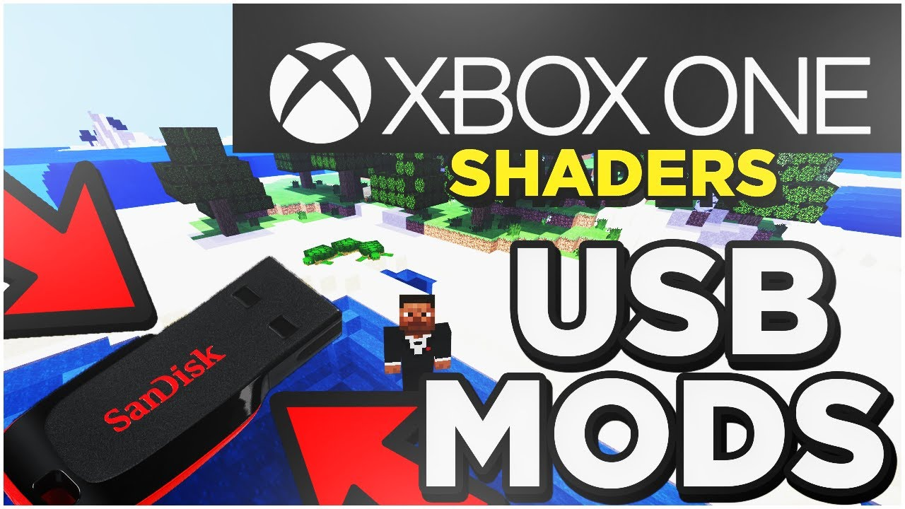 How To Download Shaders For Minecraft Xbox One With Usb YouTube
