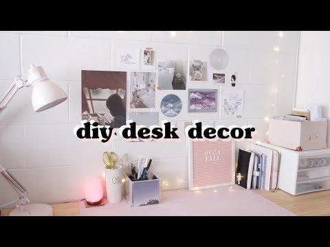 DIY Aesthetic Desk Decor
