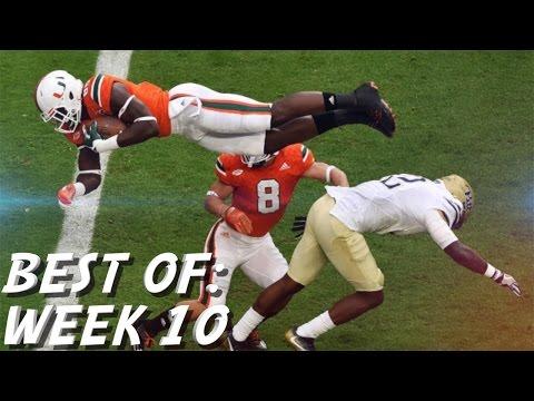 College Football: Best of Week 10