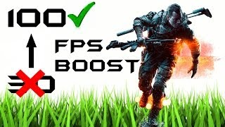 BattleField 4 | How to Boost your FPS | (Frames Per Second)
