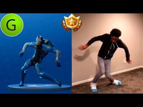 FORTNITE SEASON 4 DANCE EMOTES In REAL LIFE!