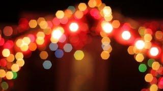 Free HD Fairy Lights Stock Video Footage - Bokeh, Christmas, Xmas