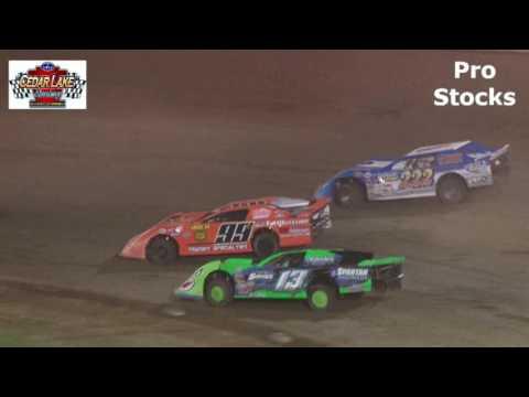 8-26-2016 Pro Stocks Cedar Lake Speedway