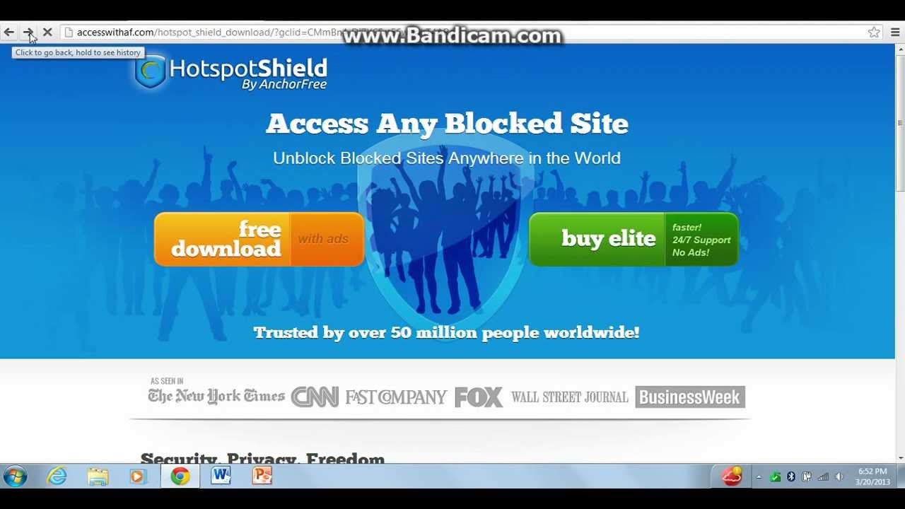 how to get Skype in the UAE / hotspot shield - YouTube