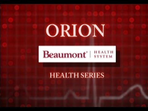 Orion Beaumont Health Series: Medication Interactions