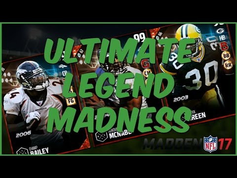 MUT 17 | Ultimate Legend Ahman Green And Champ - We Got Them Both! UL Madness