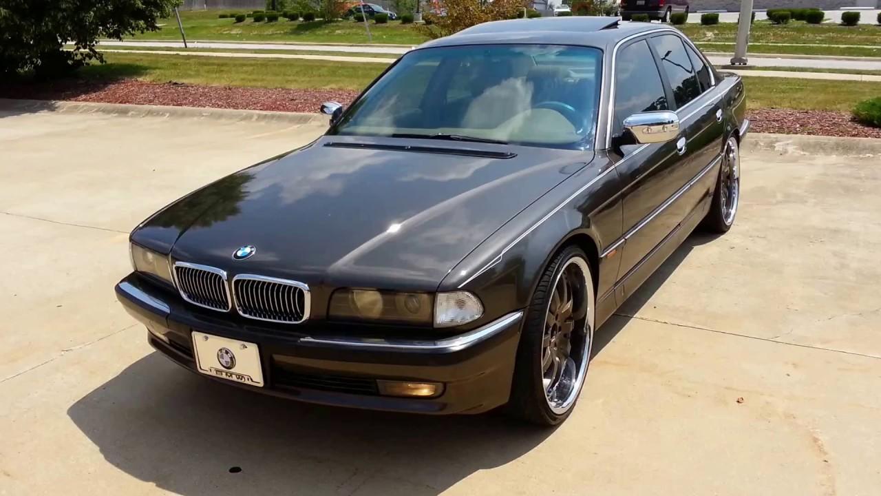 BMW 740I Fresh Paint On 22s