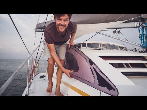 Our Windows Are Falling Out & Jason's Leaving || Sailing Ecuador