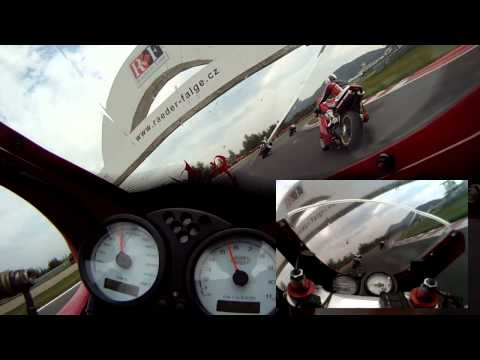 Ducati 998S & Ducati SS1000DS - Most 2011