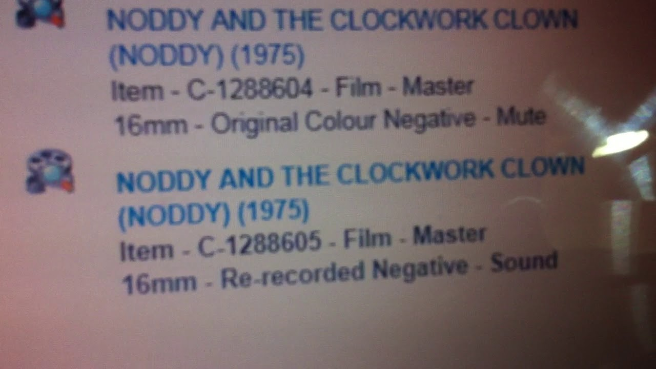 Exciting News Regarding The 1975 Version Of Noddy!
