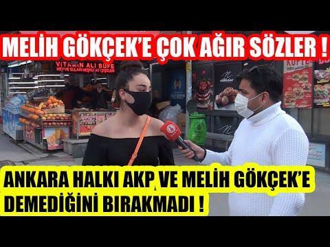 Ankara'da Melih Gökçek ve AKP'ye Çok Ağır Sözler