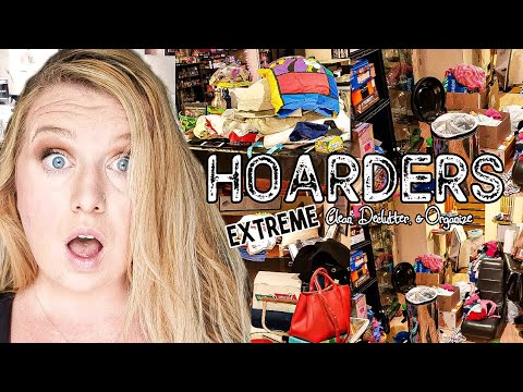HOARDER!!! EXTREME CLEAN, DECLUTTER AND ORGANIZE | CLEANING MOTIVATION | CLEAN WITH ME