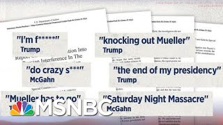 Donald Trump, On Mueller Appointment: 'This Is The End Of My Presidency. I'm F***ed.' | MSNBC