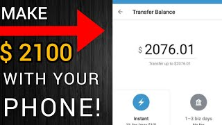 Earn $2100 In 30 Minutes With Your Phone | How To Make Money Online