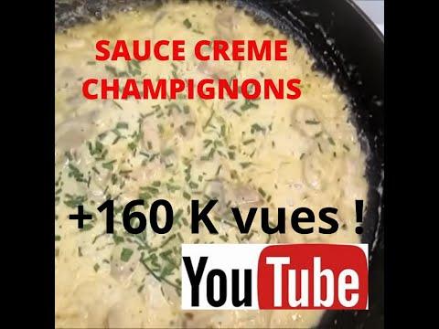 sauce-creme-champignons-pour-riz-ou-pÂtes-l-simple-l-facile-l-rapide