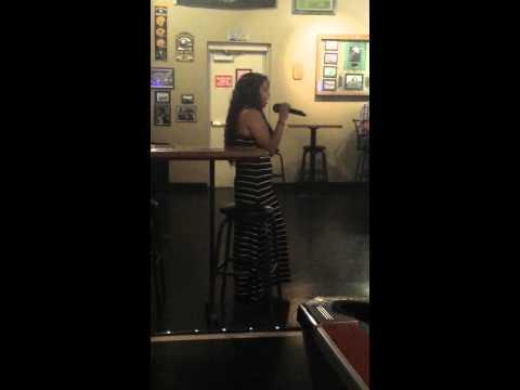 Laura - LZ Bar Monday night karaoke with Jane