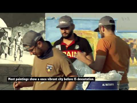 Mosul Artists Paint Murals to Help Restore Shattered City