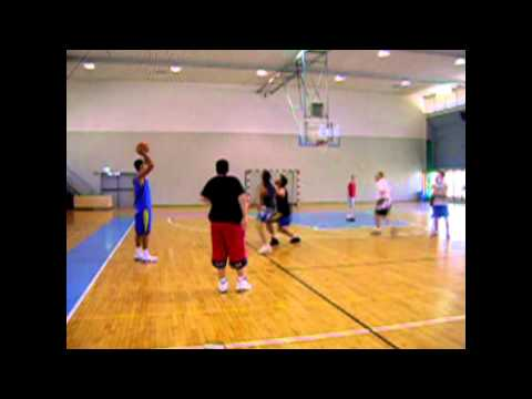 coordination and timing in basketball  in OCO system