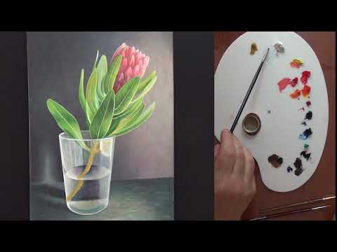 Resim yapmaya yeni başlayan arkadaşlar için, yağlı boya resim yapımı serisinin ikinci videosu.
