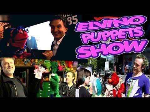 Elvino Puppets Show a Radio-Canada