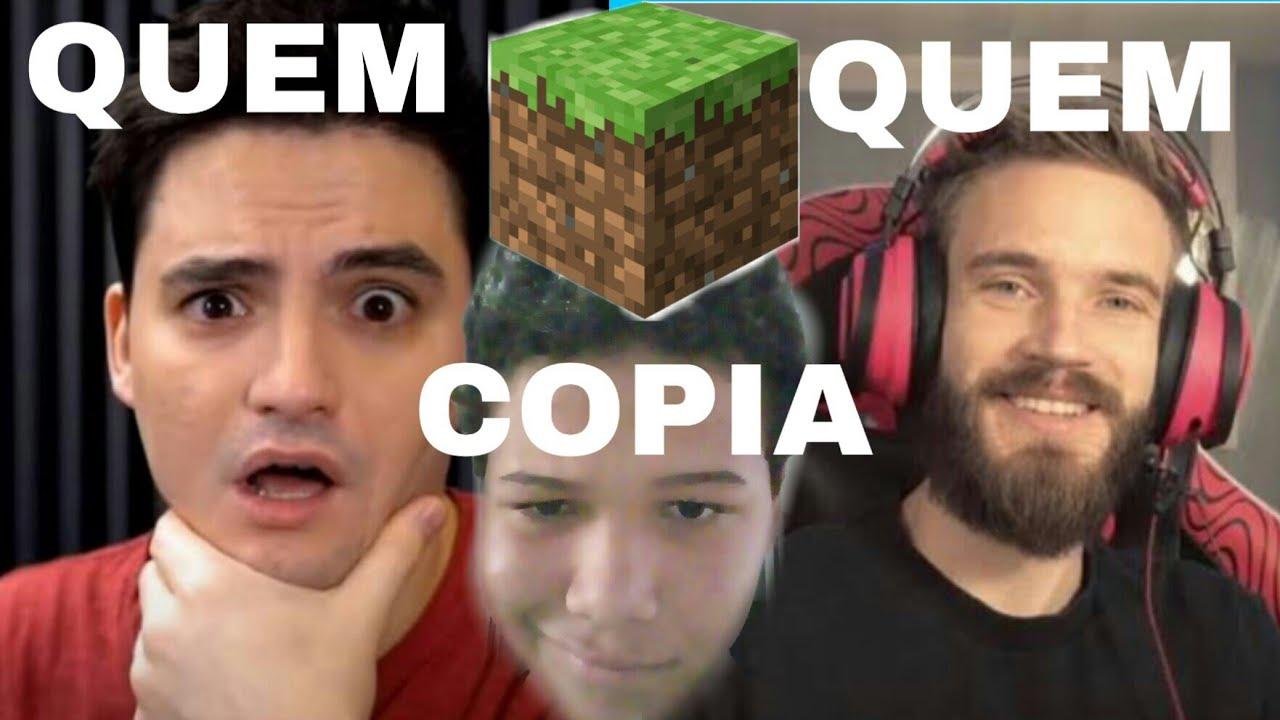 Download Será que Felipe Neto copiou o Pewdiepie no minecraft ? COINCIDÊNCIA OU CÓPIA ?