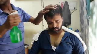 OMG skin cracking with head massage - travel series video 13