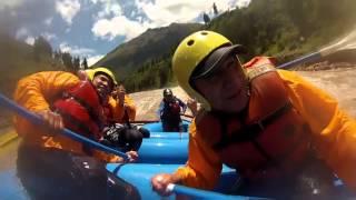 Rafting en el rio Urubamba Cusco Peru