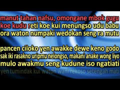 meteng asmaro ndx aka with lirik