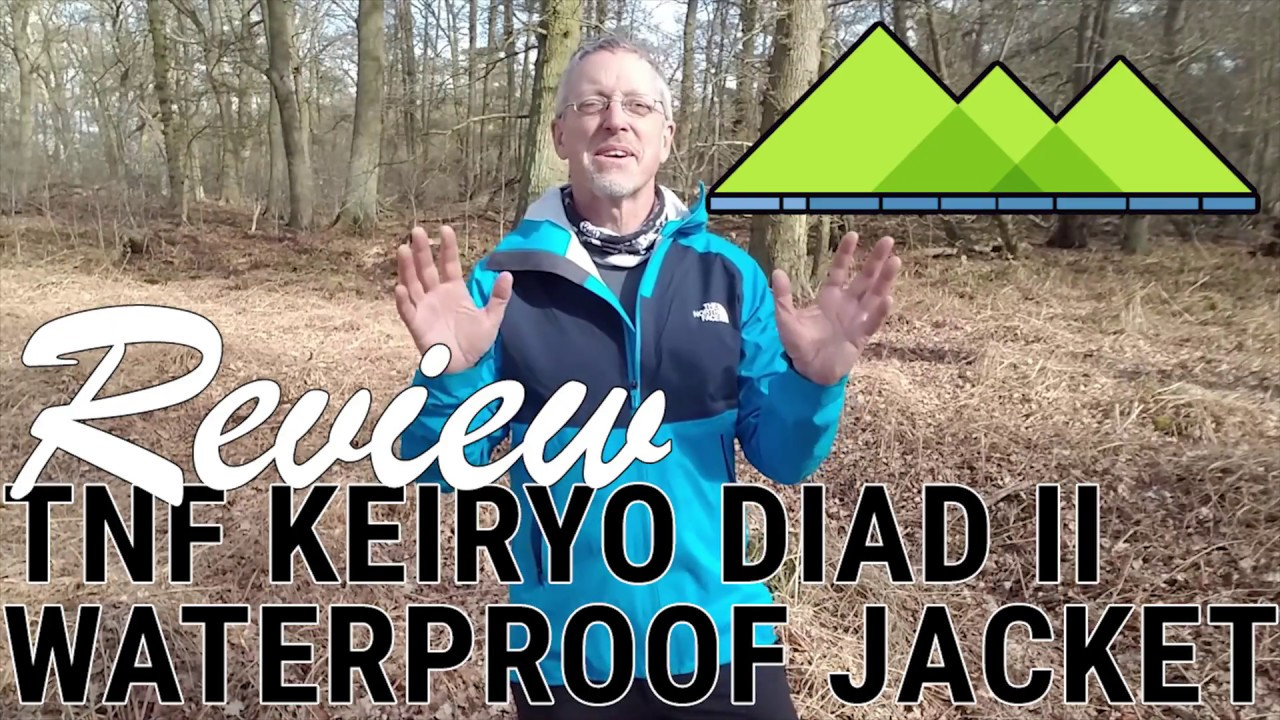 749045a56 Review TNF Keiryo Diad ll Jacket - The best Waterproof Jacket of 2018