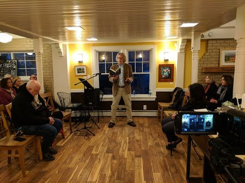 Epic Poetry Reading, Frederick Glaysher, at The Farmhouse