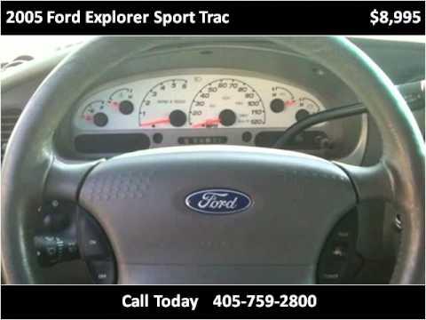 2005 Ford Explorer Sport Trac Used Cars Oklahoma City OK