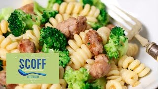 Sausage Meatball & Broccoli Pasta | Cooking For Kids S3e1/8