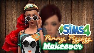 Penny Pizzazz Makeover - The Sims 4