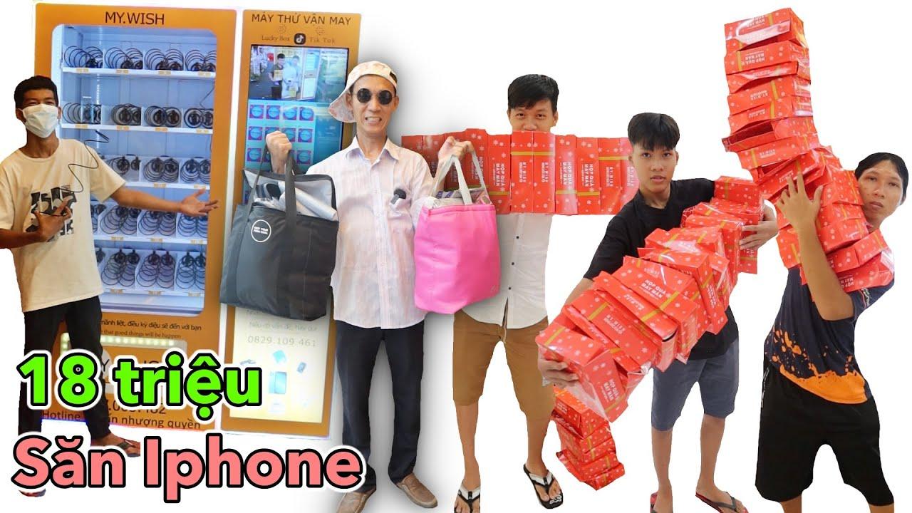 Tui Đã Bỏ Ra 18 Triệu để chơi Hết Các Máy Lucky Box Trong Siêu Thị | Hộp Quà May Mắn Trúng Iphone X